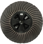 Flapwheel 14x6 Shaped, 120 Grit/1 each
