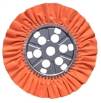 Buff Raked 14x8 Shaped, Orange/12 pack