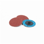 "2"" Quick Change Discs, 80 Grit (Pack of 100)"