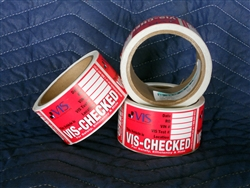 Vis Check Inspection Stickers